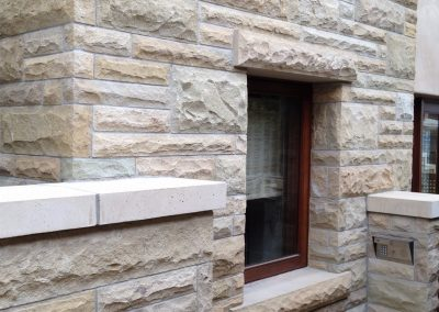 38-Santa Barbara Sandstone Ashlar pattern - Mid Century Modern