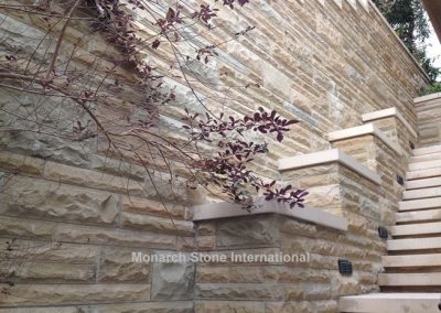 34-Santa Barbara Sandstone Ashlar pattern - Mid Century Modern