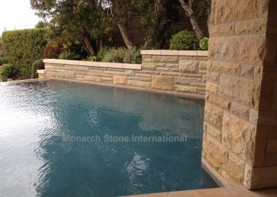 33-Santa Barbara Sandstone Ashlar pattern - Mid Century Modern
