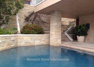35-Santa Barbara Sandstone Ashlar pattern - Mid Century Modern