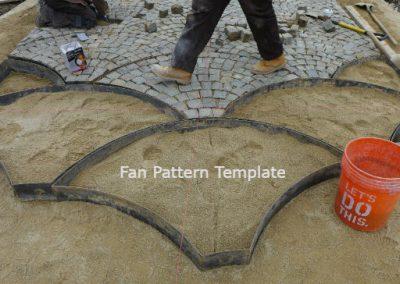 Fan Pattern Template