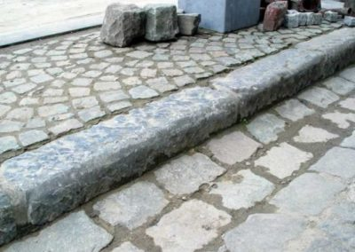 Antique Cobble and Curb