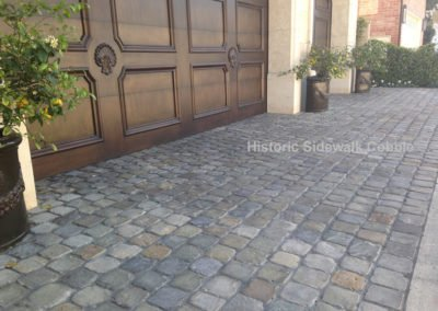 Historic Sidewalk Cobblestone