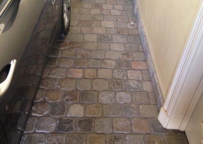 Historic Sidewalk Cobblestone