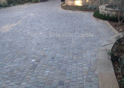 Historic Sidewalk Cobble