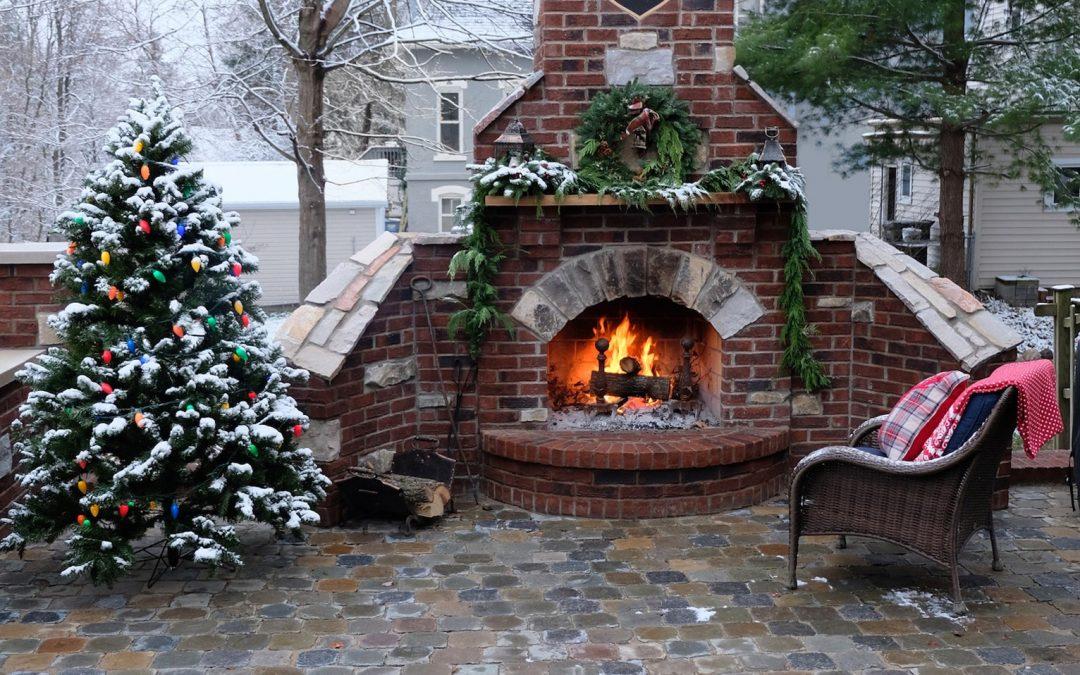 Cobblestone Patio Is Warm And Inviting!